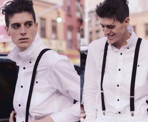 αγόρι ή κορίτσι,άφυλο μοντέλο, Rain Dove, modeling, LGBTQ, nikosonline.gr
