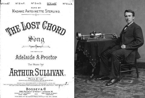 """Τόμας Έντισον,""""The Lost Chord"""""""