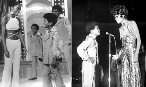 """Jackson Five"", Michael Jackson, Diana Ross"