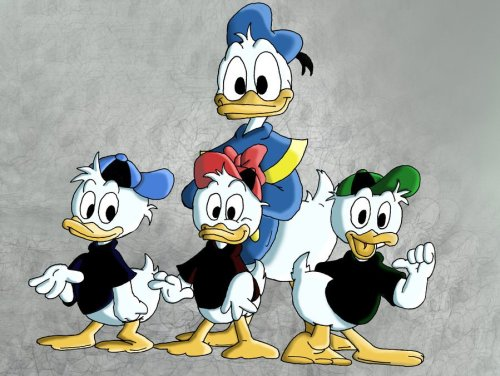 donald_duck_and_nephews, Huey, Dewey και Louie