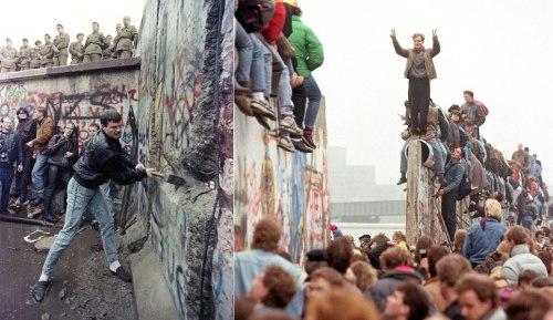 Πέφτει το Τείχος του Βερολίνου, Berlin Wall, ΤΟ BLOG ΤΟΥ ΝΙΚΟΥ ΜΟΥΡΑΤΙΔΗ, nikosonline.gr,