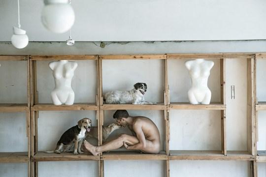 Γιώργος Στριφτάρης, photo album, GEORGE STRIFTARIS, PHOSPHORUS The book, naked man images, nikosonline.gr