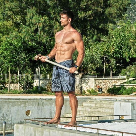Alexandros Sears, Αλέξανδρος Σίαρς, Nomads, gymnastis, Ant1, reality show, nikosonline.gr