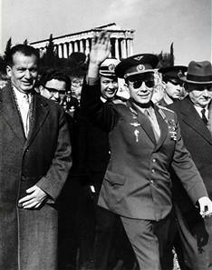 Yuri Alekseyevich Gagarin, Γιούρι Γκαγκάριν -Αθήνα, ΤΟ BLOG ΤΟΥ ΝΙΚΟΥ ΜΟΥΡΑΤΙΔΗ, nikosonline.gr