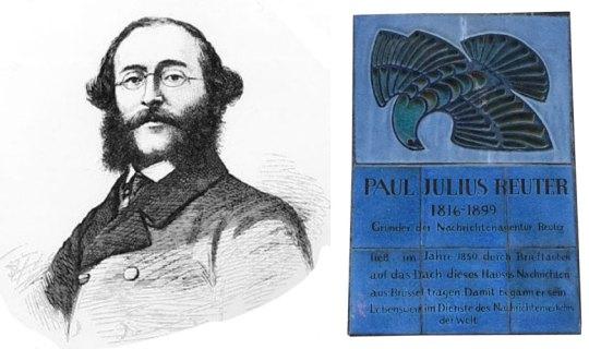 Baron Reuter, Βαρόνος Ρόιτερ, ΤΟ BLOG ΤΟΥ ΝΙΚΟΥ ΜΟΥΡΑΤΙΔΗ, nikosonline.gr