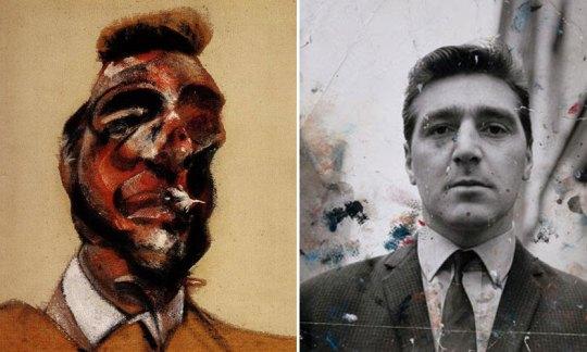 Η ολέθρια σχέση δύο αντρών, Βρετανός ζωγράφος, Francis Bacon, George Dyer, Φράνσις Μπέϊκον, zografos, gay, nikosonline.gr