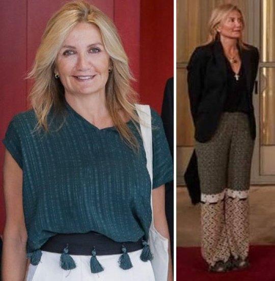 """Μαρέβα Μητσοτάκη, Ανυπέρβλητο στυλ, ρούχα, παπούτσια, μαλλιά, Mareva Mitsotakis, """"Zeus+Dione"""", nikosonline.gr"""