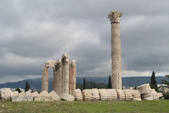 Ο μεγαλύτερος αρχαίος ναός της Αθήνας, ΟΛΥΜΠΙΟΣ ΔΙΑΣ, ΣΤΗΛΕΣ ΟΛΥΜΠΙΟΥ ΔΙΟΣ, ΣΤΥΛΟΙ ΟΛΥΜΠΙΟΥ ΔΙΟΣ, Temple Zeus, God DIAS, ATHENS, nikosonline.gr