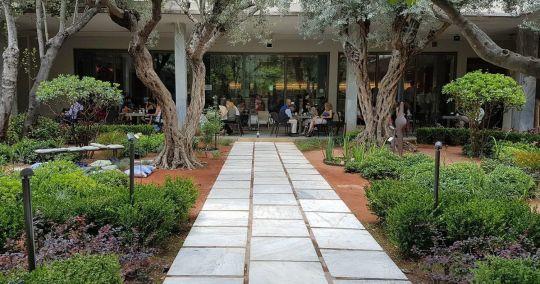 νέος κήπος του Αρχαιολογικού Μουσείου. ARXEOLOGIKO MOUSEIO, PATISION, KIPOS, GARDEN, ΑΝΑΠΛΑΣΗ, Ecoscapes, ΔΕΝΤΡΑ, nikosonline.gr