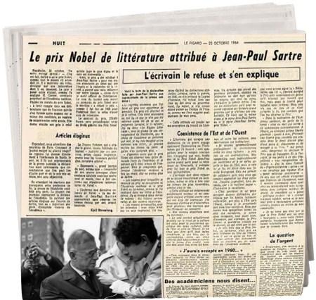 Jean-Paul Sartre /Nobel de littérature, ΤΟ BLOG ΤΟΥ ΝΙΚΟΥ ΜΟΥΡΑΤΙΔΗ, nikosonline.gr