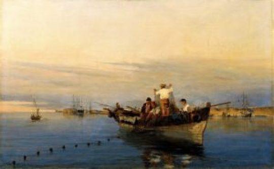 κηδεία, 5-6 άτομα, Κωνσταντίνος Βολανάκης, ζωγράφος, θαλασσογραφίες, K. Volanakis, painter, zografos, εικαστικά, thalassografies, nikosonline.gr