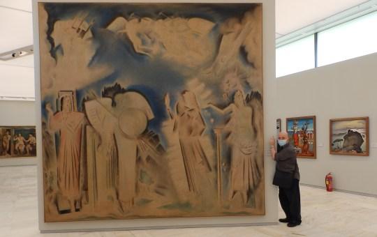 Στην νέα Εθνική πινακοθήκη, Greek National Gallery, zografoi, eikastika, έργα τέχνης, ζωγραφική, γλυπτική, εικαστικά, nikosonline.gr