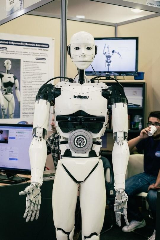 Το παιδί απ' την Καβάλα είναι διάνοια, Δημήτρης Χατζής, Dimitris Hatzis, robot, Troopy, Ascos-Case, InMoov, τεχνητή νοημοσύνη, Kavala, nikosonline.gr