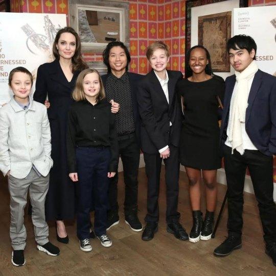 Angelina Jolie, Αντζελίνα Τζολί, Kids, nikosonline.gr