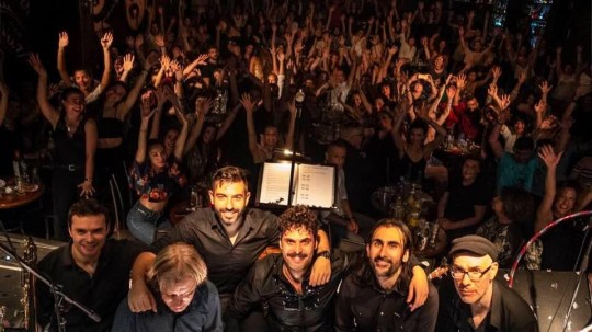 Αθηναϊκό μαύρισμα, Polkar, Live concert, Gazarte, Balkan, Γιώργος Παπαγεωργίου, Giorgos Papageorgiou, γκρούπ Πόλκαρ, Polkar group, nikosonline.gr
