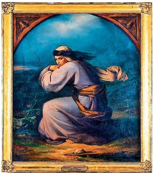 Η ζωγράφος που έκαψε τα έργα της, Ελένη Αλταμούρα, Eleni Altamoura, painter, zografos, εικαστικά, Σπέτσες, τρέλα, nikosonline.gr