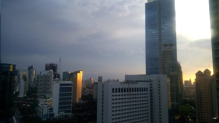 Senja dan malam