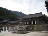 Daeungjeon, die Haupt-Buddha-Halle von Hwaeomsa