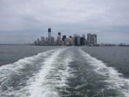Fahrt mit der Staten Island Ferry