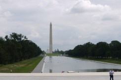 Reflecting Pool, Washington Monument, Capitol