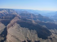 über dem Grand Canyon
