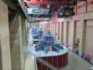 eine der beiden Turbinenhallen