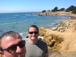 am Pazifik in San Simeon