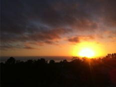 Sonnenuntergang in Carmel