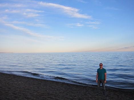 schöner Strand, keine Wale