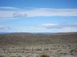 Die ersten Berge mit Schnee sind in Sicht - die Anden?