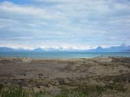 Der Lago Argentino mit Berg-Deko