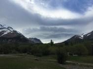 Wolkenspiele an der Cordillera del Paine