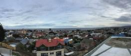 Punta Arenas - im Hintergrund ist schon Feuerland zu sehen