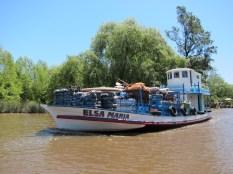 Rundfahrt im Tigre / Paraná Delta