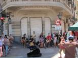 Flohmarkt San Telmo - Stimmung an der Straßenecke