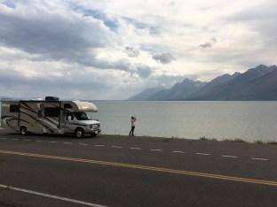 Jackson Lake im Grand Teton NP
