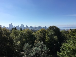 Blick vom Wasserturm im Volunteer Park