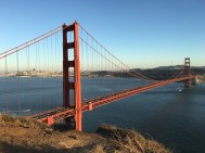 Die Golden Gate Bridge in voller Pracht