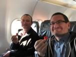 Valentinstagsgruß der Lufthansa