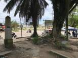 Plaza de la Amistad mit der Grenze zwischen Kolumbien und Brasilien