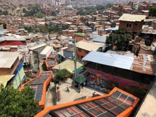 Die Rolltreppen der Comuna 13