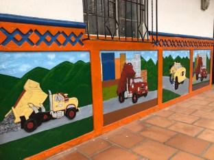 Zócalos in Guatapé
