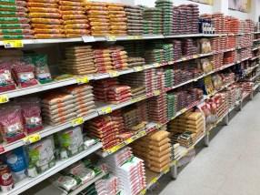 Ordnung muss sein, auch im Supermarkt