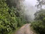 ... auf dem Camino Nacional.