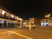 Cartagena bei Nacht - Plaza de la Aduana