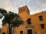 Iglesia de Santo Domingo im Abendlicht