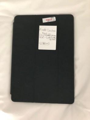 Da ist er wieder, mein iPad!