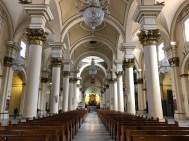 Bogotás Kathedrale von innen...