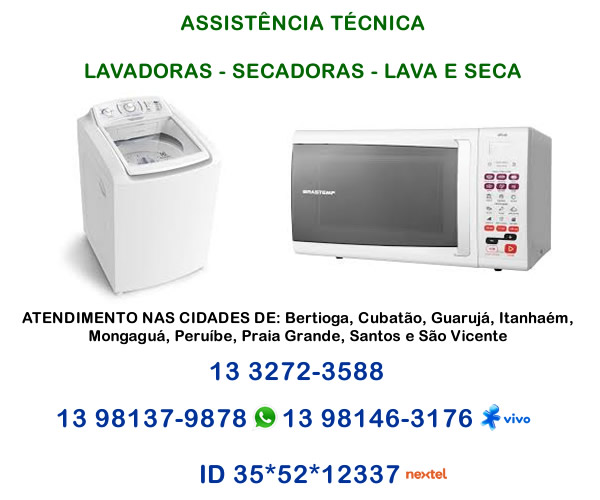 Manutenção eletrodomésticos Baixada Santista