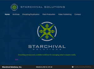 Starchival Solutions Home Page